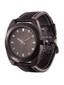 Часы AA Wooden Watches Classic S3 Black-L-W