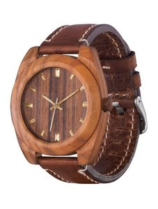 Watch AA Wooden Watches Classic S3 Brown-L-BR