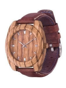 Watch AA Wooden Watches Classic S3 Zebrano-L-BR
