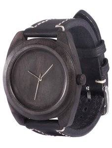 Watch AA Wooden Watches Icon S1 Black-L-W