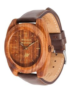 Часы AA Wooden Watches Icon Mark S1 Brown-L-BR-P