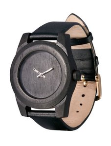 Часы AA Wooden Watches Lady W1 Black-L-W