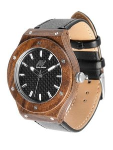 Watch AA Wooden Watches Liberty F1 Sandal Black
