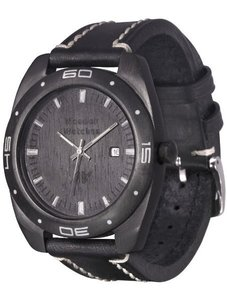 Watch AA Wooden Watches S2 Black