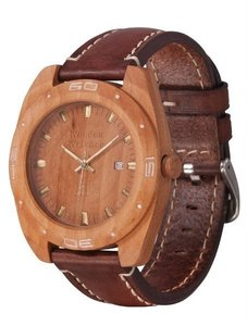Часы AA Wooden Watches (груша) S2 Pear-L-BR