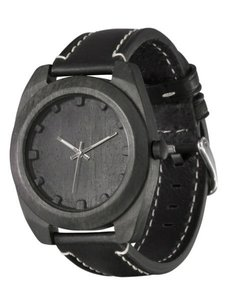 Watch AA Wooden Watches Woodcube S4 Black-L-W