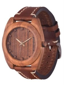 Watch AA Wooden Watches Woodcube S4 Brown-L-BR