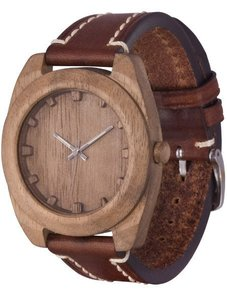 Часы AA Wooden Watches Woodcube (орех) S4 Nut-L-BR