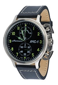 Watch Molnija ACHS-1 steel
