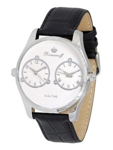 "Watch Romanoff ""Dual Time"" 10458G1BL"