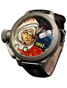 Watch Umnyashov Illustrated dial Gagarin