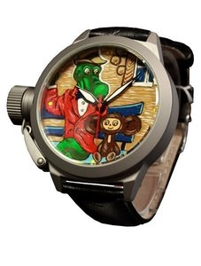 Watch Umnyashov Illustrated dial Gena-and-Cheburashka