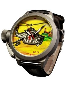 Watch Umnyashov Illustrated dial МИ-24