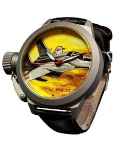 Watch Umnyashov Illustrated dial MIG-29