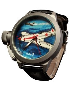 Watch Umnyashov Illustrated dial MIG-3
