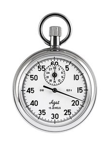 Zlatoust stopwatch with one-touch anti-shock protection SOPpr-2a-2-010