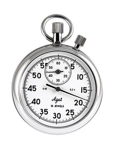Zlatoust stopwatch two-button with anti-shock protection SOSpr-2b-2-010