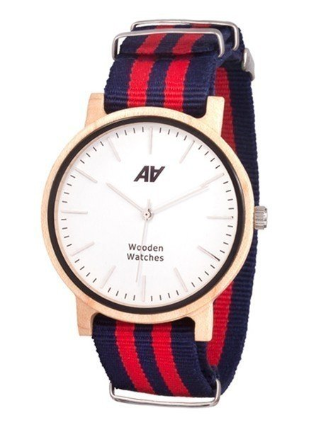 Часы AA Wooden Watches Casual Nato R-B