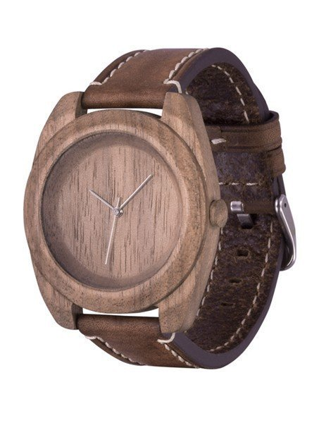 Часы AA Wooden Watches Icon S1 Nut-R-BR (орех)