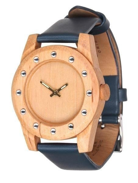 Часы AA Wooden Watches Lady Kristal 12 W3 Pear