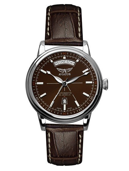 Часы Aviator Swiss Douglas Day Date V.3.20.0.140.4