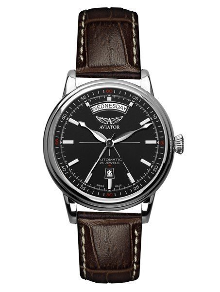 Часы Aviator Swiss Douglas Day Date V.3.20.0.142.4