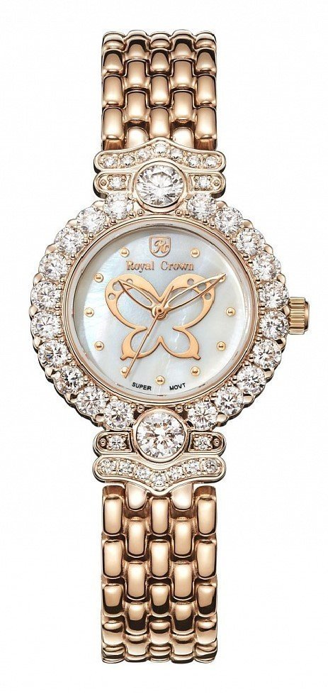 Watch Mikhail Moskvin Royal Crown Lady 3844S-RSG-6